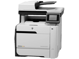 Laserjet Pro 400 color MFP M475DN, pick-up rollers versleten